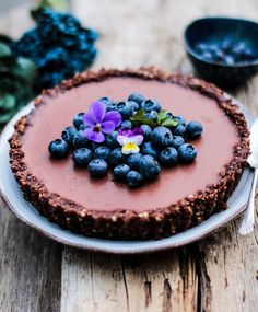 Chocolate Ganache Tart (Vegan & Gluten free) The best vegan chocolate dessert, rich & creamy & delicious. So easy to make.