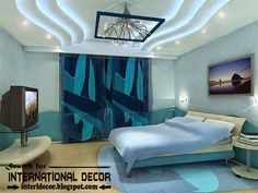 LED ceiling lights, LED strip lighting for plasterboard ceiling for bedroom