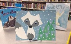 The final week of our Let It Snow!-Storytime series we featured an Arctic Fox craft! I'm always excited to do any craft involving a fox! I have attached a template for the fox. I used white p…