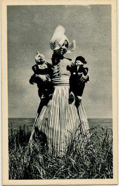 pc volendam poppen  1950ies #NoordHolland #Volendam