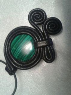украшения из кожи с натуральными камнями / Прочие виды рукоделия / Другие виды рукоделия