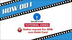 SBI INB: Online request For ATM cum Debit Card without visiting branch