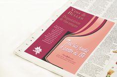 Publicité journal Vin & Bulles