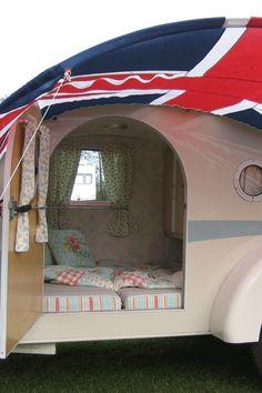 Vintage Style Retro Caravan - the English Caravan company