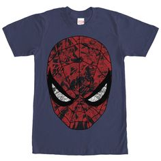 Marvel Men's - Spider-Man Mask T Shirt
