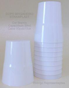 copo brigadeiro #strawplast branco