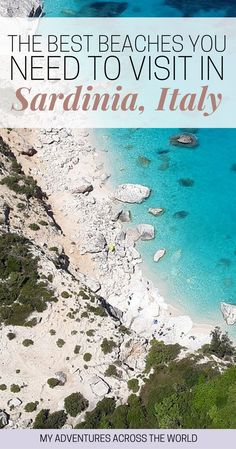 Discover the 13 best beaches in Sardinia, Italy. Here you'll find why these are the top beaches in Sardinia and lots of Sardinia, Italy, travel tip | Sardinia beach | Sardinia Italy Porto Cervo - via @clautavani