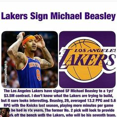 508380bbd 44 Best Michael Beasley NYK LAL images