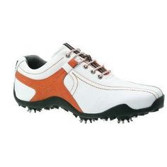 Footjoy GOLF ATHLETICS GOLF SHOES (WHITE/BURNT ORANGE) 8.0 FOOTJOY GOLF ATHLETICS GOLF SHOES (WHITE/BURNT ORANGE) The Golf Athletics category provides shoes with a sporty appeal for those players seeking a more casual and comfortable look - superb cushioning  http://www.comparestoreprices.co.uk//footjoy-golf-athletics-golf-shoes-white-burnt-orange-8-0.asp