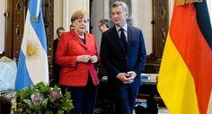 """Macri y Merkel se reúnen en Casa Rosada: """"Alemania puede ser un buen socio para Argentina"""" http://asistenteadomicilio.blogspot.com.ar/"""
