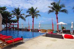 Beach Bar at Koh Samui #thailand #pool