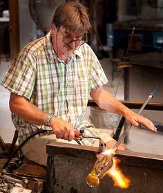 Charlie Miner » Glass Artist - Habatat Galleries