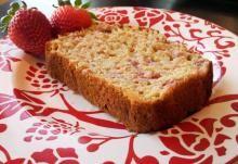 Greek Yogurt Strawberry Banana Bread   Nosh and Nourish