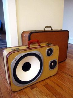 I think these speakers are really creative and useful. Having speakers on your briefcase is useful cause you can walk around and listen to music while carrying your things.