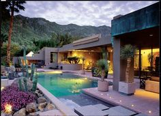 desert home pool