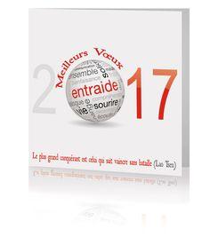 Carte de voeux 2017 <br/> 20749 www.voeuxselection.fr Cartes de Voeux 2017