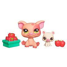 littlest pet shop swan and baby - Google Search