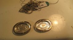 Studio E Serving trays from a silver locket