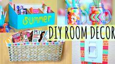 DIY Room Decor & Organization Ideas for Summer!