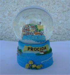 Palle di neve - Boule à neige - Snow globe: Procida