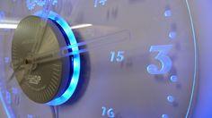 RGB Multi Colour Wall Clock