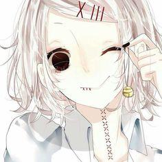 Juuzou Suzuya smiling~   Tokyo Ghoul ▪