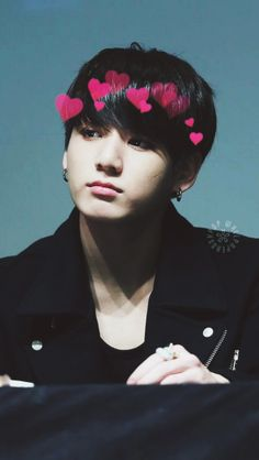 Hey I see those hearts when I usually look at kookie