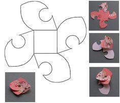 plantilla flor redondos