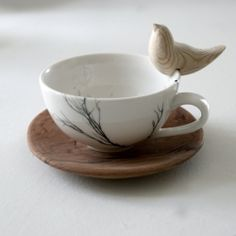 This is so beautiful - wouldn't it be lovely to wake up to this at your bedside with some nice Orange Oolong...