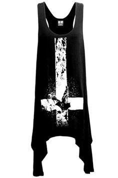 Kill Star Bat Inverted Cross Racer Back Dress, £29.99    http://www.attitudeclothing.co.uk/product_31996-61-2267_Kill-Star-Bat-Inverted-Cross-Racer-Back-Dress.htm