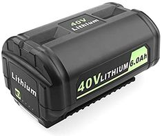 Amazon.com: Advtronics OP4050A 6.0Ah 40 Volt Battery Compatible with Ryobi 40 Volt OP4015 OP4026 OP40201 OP40261 OP4026A OP4030 OP40301 OP4040 OP40401 OP4050 OP40501 OP40601 Ryobi 40V Battery: Home Audio & Theater Tractor Battery, Country Picnic, Hot Tub Cover, Outdoor Spa, Wood Planters, Control Valves, Electric Power, Flatware Set, Lawn Care