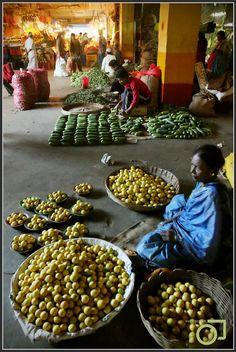 market, Bangalore, India