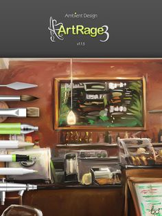 Apps for my iPad: ArtRage. This looks pretty awesome, especially the feature of squeezing paint onto the screen and being able to create entirely new things from imported images.