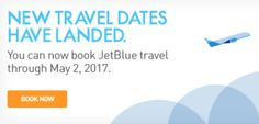 JetBlue Schedule Extended to Early May