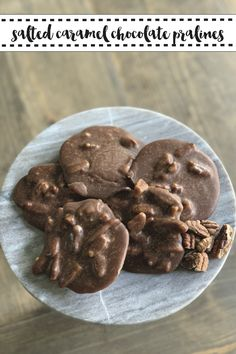 Make these mouthwatering Chocolate Salted Caramel Pralines for Mardi Gras or just because with the simple recipe from Everyday Party Magazine #Praline #NOLA #Recipe