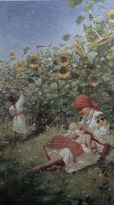 """ Mother "" by M.  Ivasyuk 1908 , Ukraine, from Iryna"