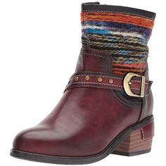 4e42be4aca27 L'Artiste by Spring Step Womens Gaetana Ankle Bootie Mahogany 38 M US      Check out the image by visiting the link. (This is an affiliate link)