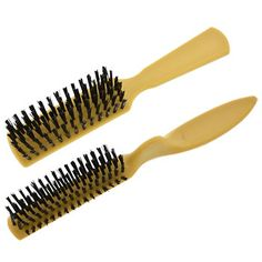 Basic Solutions Stiff-Bristle Hair Brushes