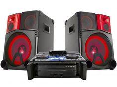 Mini System LG 3900W RMS MP3 - Auxiliar Dual USB - X Boom Pro
