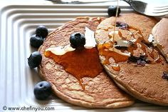 Buckwheat Blueberry Pancakes with Buttermilk Recipe   Chef In You