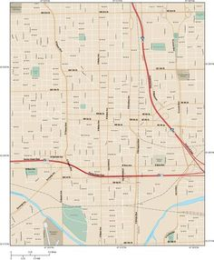 21 Best vector map Oklahoma City images