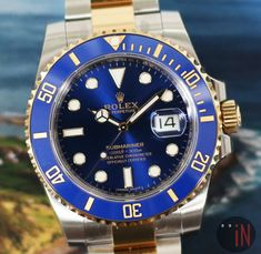 Stay Warm Till 2018!Rolex 40mm Submariner Steel & Yellow #luxury cars #luxury homes #luxury house