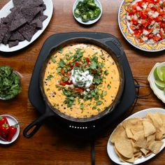 Loaded Queso Sous Vide