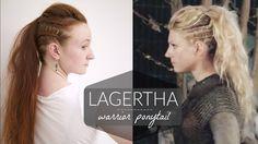 Lagertha Vikings Warrior Ponytail Tutorial