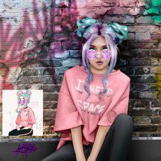 Drawthisinyourstyle 3 by kayleemichaels on DeviantArt Girly M, Cartoon Kunst, Cartoon Art, Chica Cool, Girls Diary, Cute Girl Drawing, Girly Drawings, Digital Art Girl, Art Model