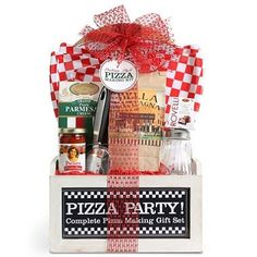 Gift Baskets - Pin it :-) Follow us, CLICK IMAGE TWICE for Pricing and Info . SEE A LARGER SELECTION of gift baskets at http://azgiftideas.com/product-category/gift-baskets/ - gift ideas , gift set -  Wine Country Pizza Gift Basket