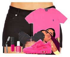 """""""Untitled #707"""" by demitwin07 ❤ liked on Polyvore featuring Stila, NARS Cosmetics, Essie and NIKE"""