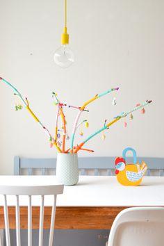 Ramas de bricolaje de Pascua para MiSAmA   Wimke   Las buenas ideas deben ser compartidos!