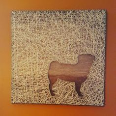 Check out this item in my Etsy shop https://www.etsy.com/listing/387033834/pug-string-art