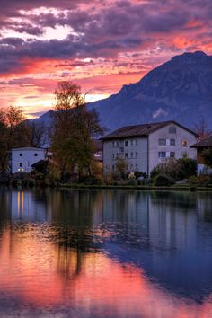 Interlaken Sunrise, Switzerland